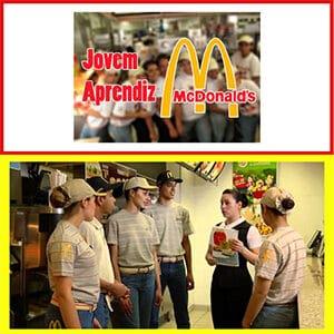 vagas Jovem Aprendiz McDonald's