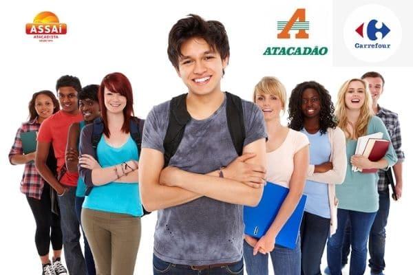Jovem Aprendiz Assaí Atacadista, Carrefour e Atacadão: Aprenda Como Se Inscrever