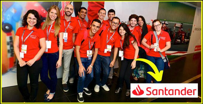 Vagas de estágio Santander: Saiba como enviar o currículo online