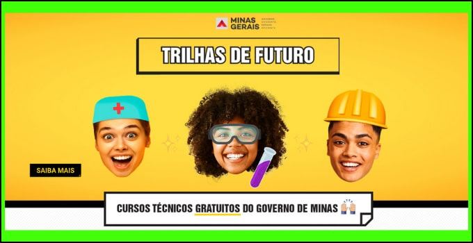 cursos tecnicos gratuitos do Governo de Minas