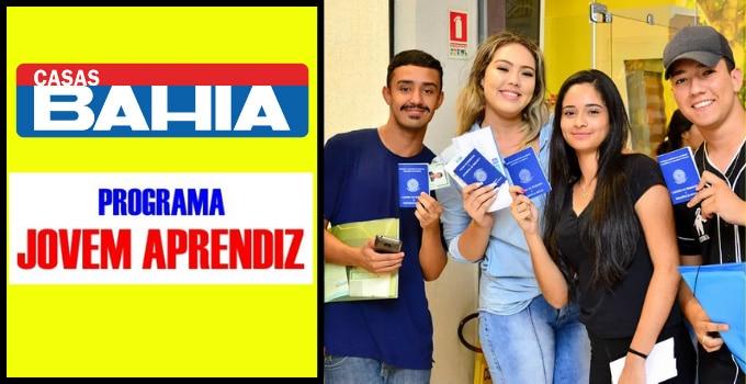 Menor Aprendiz Casas Bahia 2022
