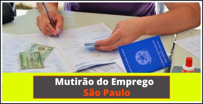 Mutirao do Emprego de Sao Paulo