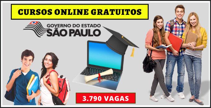 Cursos Gratuitos Oferecido Pelo Governo de São Paulo – Como se Inscrever